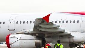 Plane spotting stock video footage