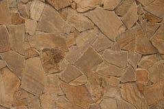 Plane stonework background. Background, based on the basis of masonry of natural plane stones Royalty Free Stock Image