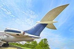 Plane Tail-plane Stock Photo