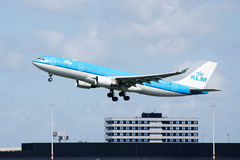 Plane take-off Stock Photos