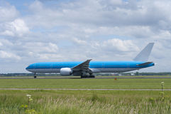Plane taking off Stock Image