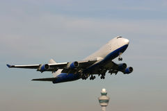Plane taking off Stock Photos