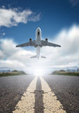 Plane Taking Off Royalty Free Stock Photo