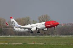 Plane taking off Royalty Free Stock Image