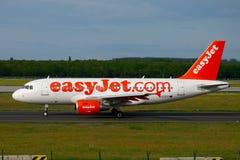 Plane taxiing Royalty Free Stock Photos