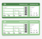 Plane tickets Royalty Free Stock Images