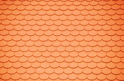 Plane tiles. A roof with a lot of red plane tiles Stock Images
