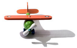 This plane is a toy. Royalty Free Stock Photography