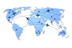 Plane transportation Royalty Free Stock Image