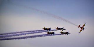 Plane tricks Royalty Free Stock Image