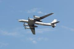 Plane Tu-95 Royalty Free Stock Photos