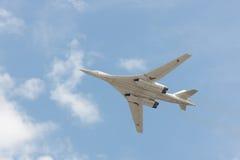 Plane Tu-95 Royalty Free Stock Photography
