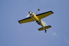 Plane upside down Stock Photo