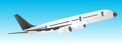 Plane vector Royalty Free Stock Photo