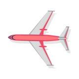 Plane Vector Icon on White Background. Transport Stock Photo