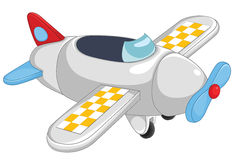 Plane vector illustration. EPS 8 Stock Images