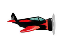 Plane vector illustration Royalty Free Stock Photography