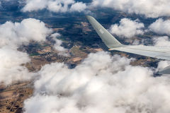Plane view Royalty Free Stock Image