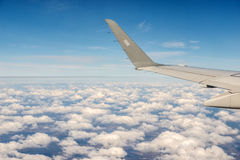 Plane view Royalty Free Stock Photography