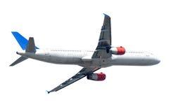 Plane on white background Stock Image