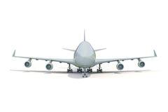 Plane on white Royalty Free Stock Photo