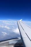 Plane wing. Stock Images