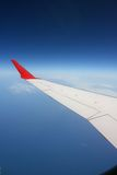 Plane wing Stock Image