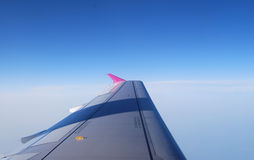 Plane wing Stock Photo