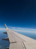 Plane Wing with Copy Space Stock Images