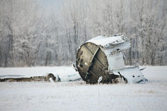 Plane wreck Royalty Free Stock Photo