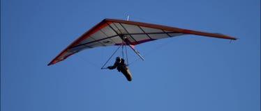 Planeador de caída en cielo almacen de video