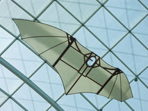 Planeador de DA Vinci's Fotos de archivo