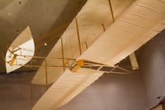 Planeador 1902 de Wright Brothers en el aire y el museo espacial nacionales Fotografía de archivo libre de regalías