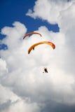 Planeador Paramotor Foto de archivo libre de regalías