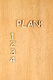 planeamento Foto de Stock Royalty Free