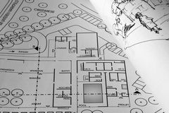 Planeamento fotografia de stock