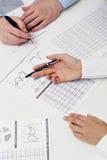 Planeamento de negócio Fotos de Stock
