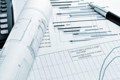 Planeamento de projeto Foto de Stock Royalty Free