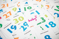Planeamento do bebê Fotos de Stock