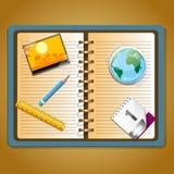 Planeamento do curso Imagens de Stock Royalty Free