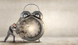 Planeamento do tempo! Imagens de Stock Royalty Free