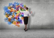 Planeamento empresarial Fotografia de Stock Royalty Free