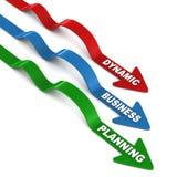 Planeamento empresarial dinâmico ilustração do vetor