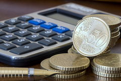 Planeamento financeiro Imagem de Stock