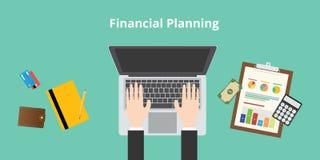 Planeamento financeiro Fotos de Stock Royalty Free