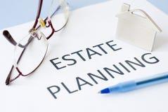 Planeamento imobiliário Imagens de Stock Royalty Free
