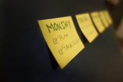 Planeamiento de la tarea Imagenes de archivo