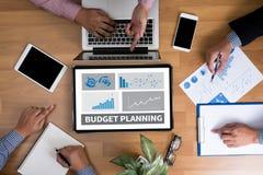 Planeamiento del presupuesto imágenes de archivo libres de regalías