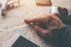 Planeando o seu próximo feriado das férias tropece à Suécia Foto de Stock