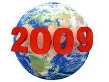 Planeet 2009 Stock Foto